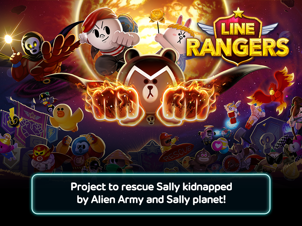 LINE Rangers Screenshot