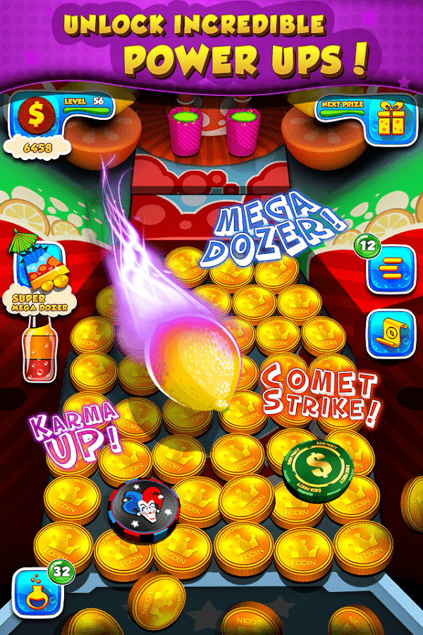 Soda Dozer: Coin Pusher Screenshot 1