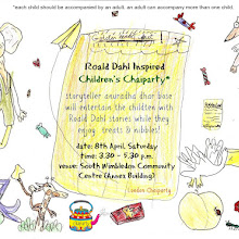 Roald Dahl inspired children's Chaiparty