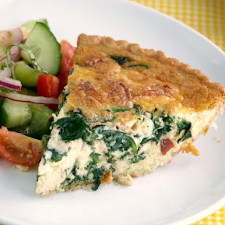 Spinach Quiche Without Cheese Recipes