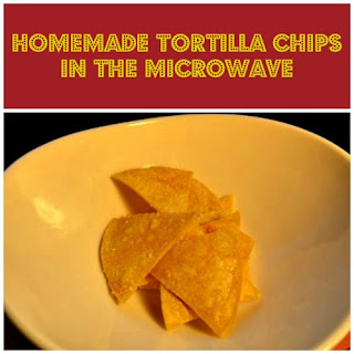 Microwave Tortilla Chips
