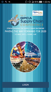 GPCA SUPPLY CHAIN CONFERENCE - screenshot
