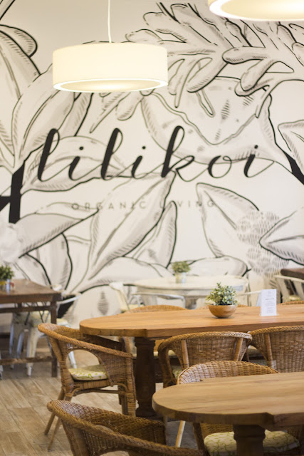 Interior at Lilikoi Organic Living