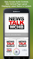 Screenshot of NewsTalk 1200 & 99.9 FM WCHB