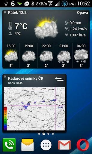 Meteoservis - screenshot