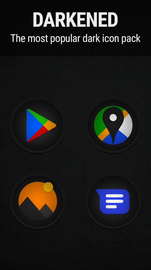 Stealth Icon Pack Screenshot 0