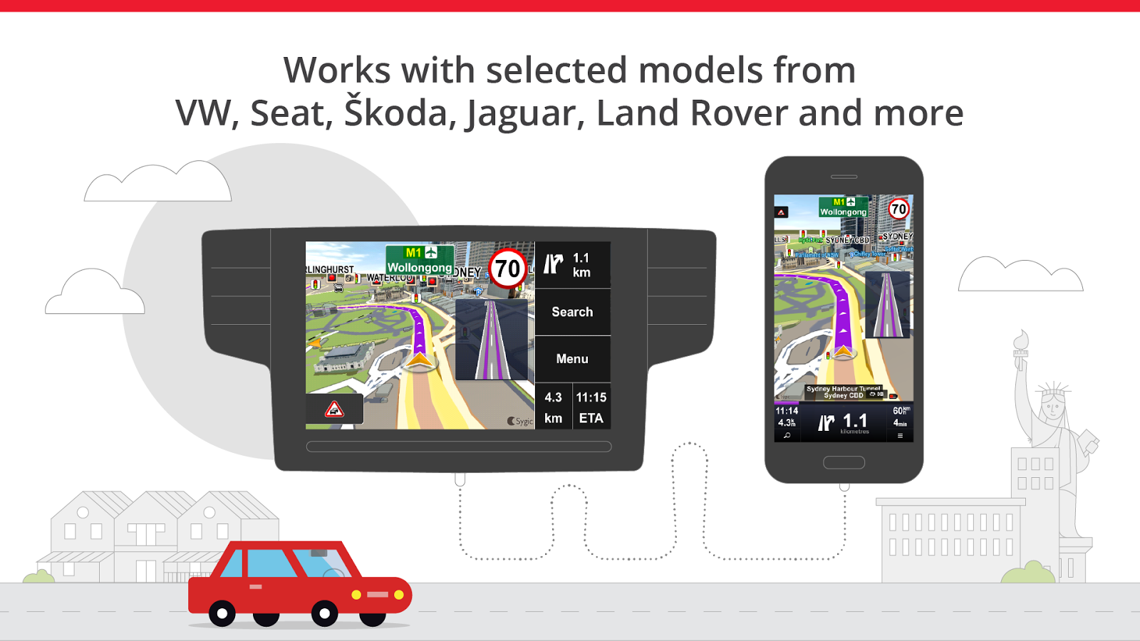 Sygic Car Navigation Screenshot 1