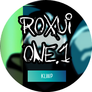 RoxUI One.1 for KLWP app for android