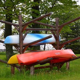 Primary Canoes by Beth Bowman - Sports & Fitness Watersports (  )