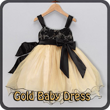 Gold Baby Dress