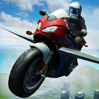 Flying Police Bike Simulator For PC (Windows / Mac)