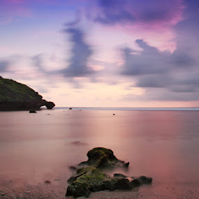 by D'jae Asikin - Landscapes Waterscapes ( water, canon, hill, sky, nature, sea, teman )