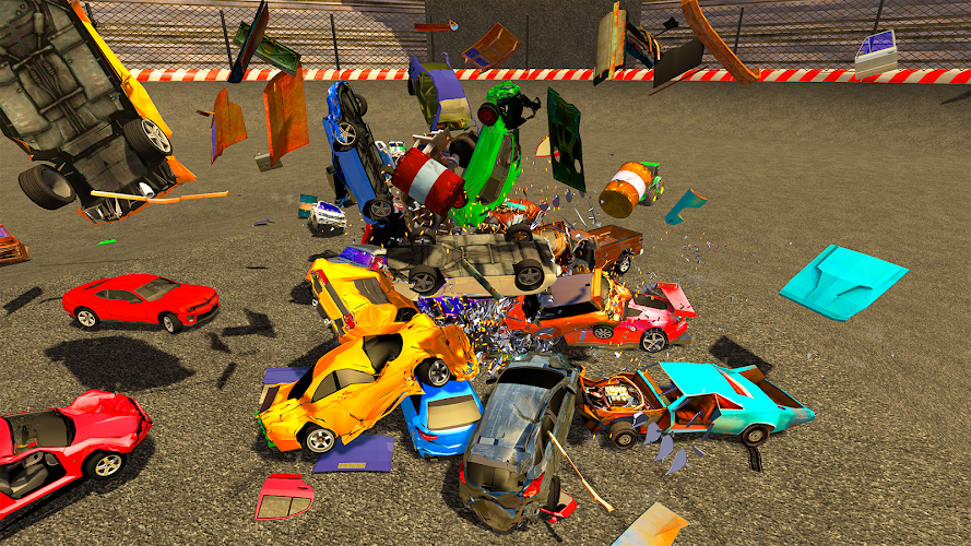 Derby Destruction Simulator Android App Screenshot