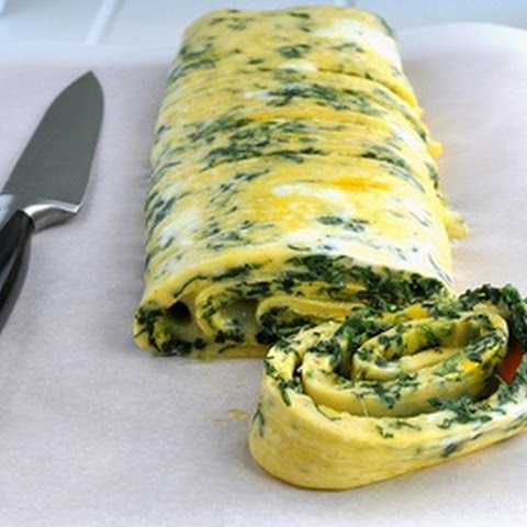 Egg White Spinach Omelet