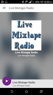 Live Mixtape Radio - screenshot
