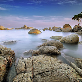 After Sunrise by Muhammad Ridha - Landscapes Beaches ( relax, tranquil, relaxing, tranquility )
