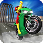 Incredible Superheros On Crazy Wheels APK for Bluestacks