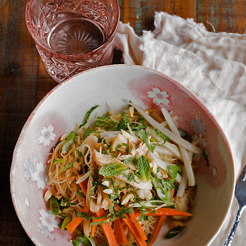 Chicken and Noodle Salad with Mint