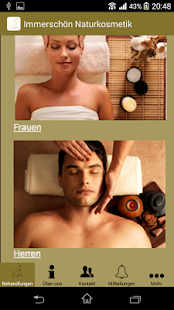 Immerschön Naturkosmetik - screenshot