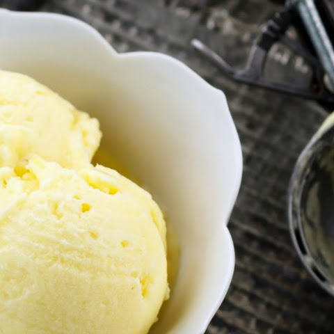 Easy Pineapple Ice Cream