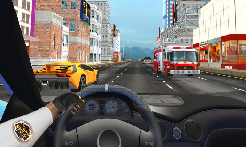 Im Auto-Rennen android spiele download