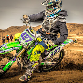 Motocross by Thomas Dilworth - Sports & Fitness Motorsports ( colorado springs, aztec raceway, motocross, racing, motorcycle )