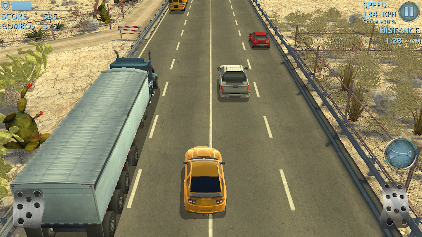android Highway Fast Racing (Traffic) Screenshot 5