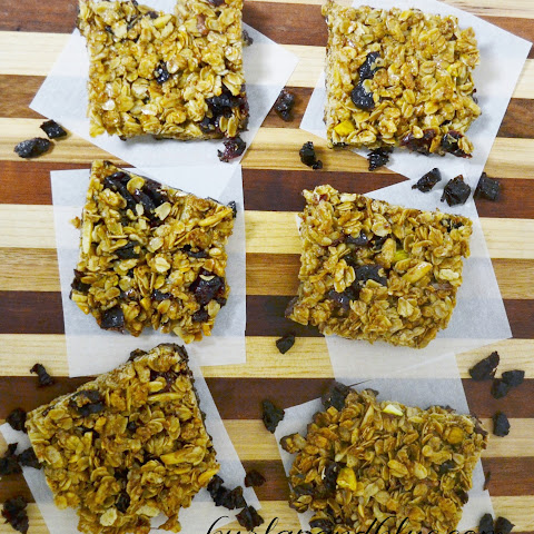 Homemade Granola Bars {snack Healthy In The New Year!}