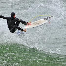 HB Surfer by Jose Matutina - Sports & Fitness Surfing ( orange county, surfer, california, huntington beach )
