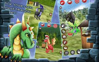 Screenshot of Dragon Pet