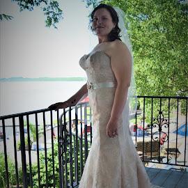 My Daughter by Lorna Littrell - Wedding Bride ( wedding day, wedding, bride )