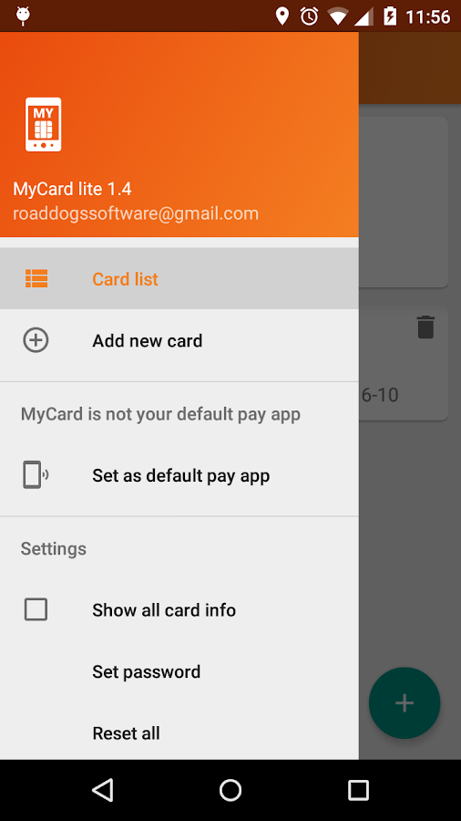 MyCard lite Screenshot 4
