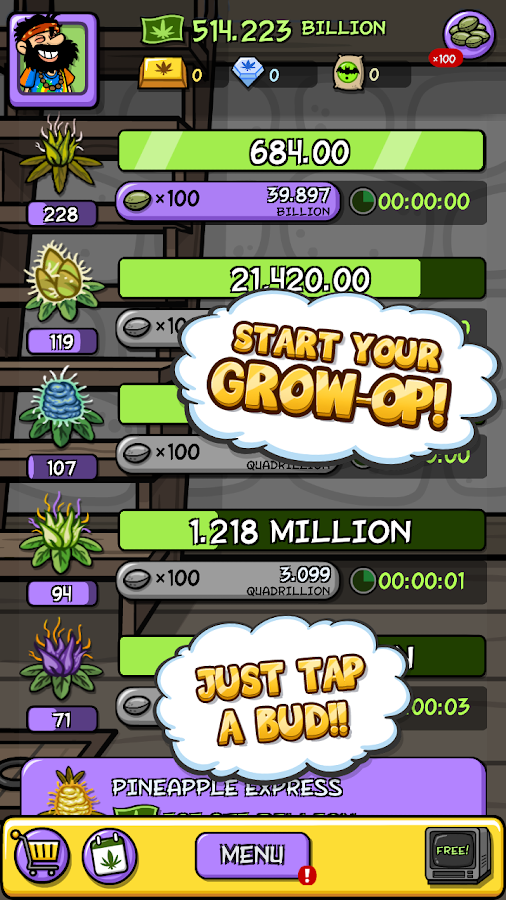 Pot Farm: High Profits Screenshot 0