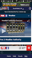 Screenshot of Fox 2 Weather