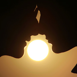 Love Is Blind by Ahsan Changezi - People Couples ( love, silhouette, sunset, couple, photography )