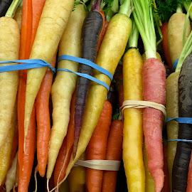 Heirloom Carrots by Lope Piamonte Jr - Food & Drink Fruits & Vegetables