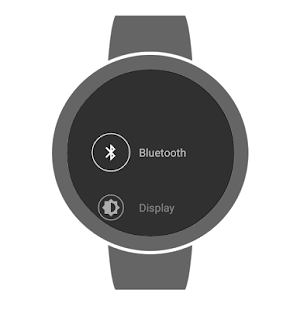 Advanced Settings for Watch