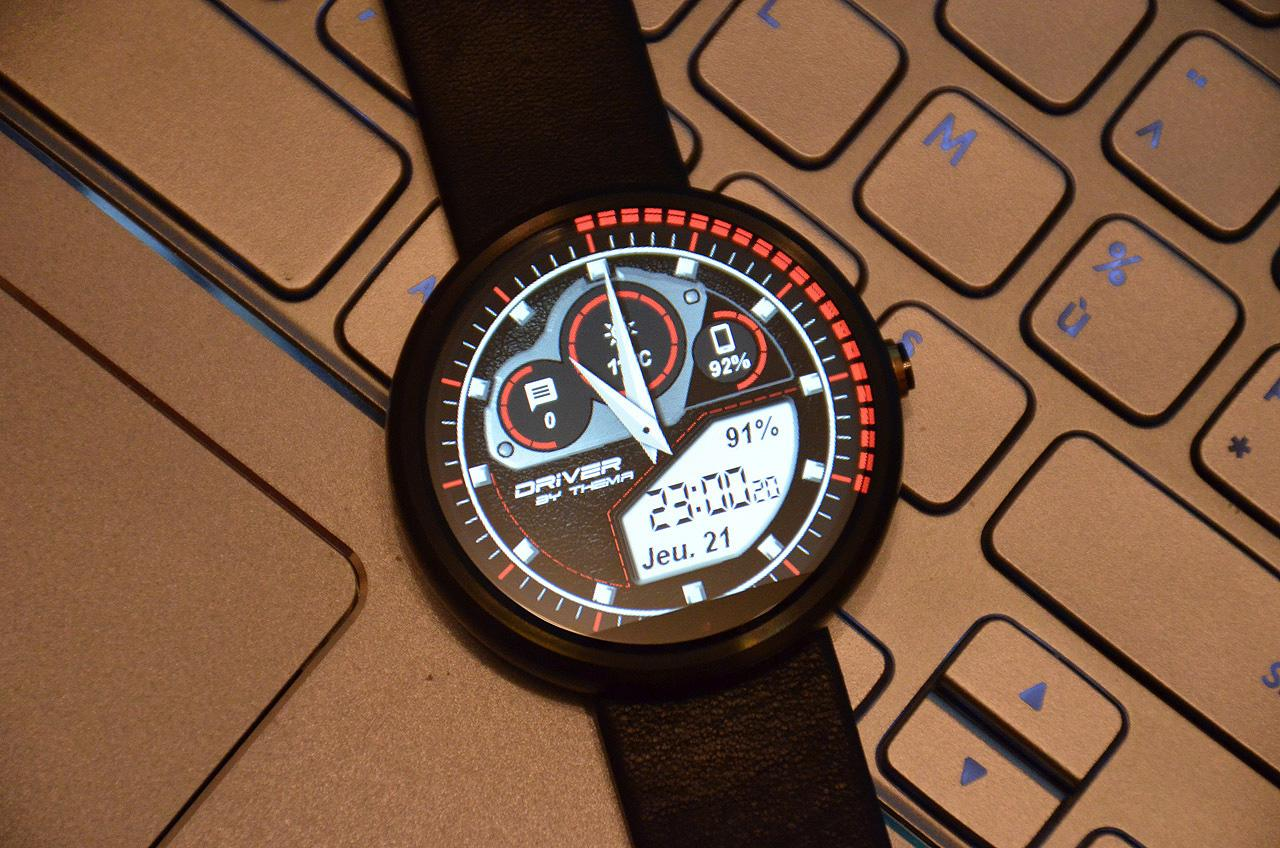 Driver Watch Face Screenshot 3
