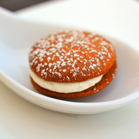 Spiced Rum and Clementine Whoopie Pies