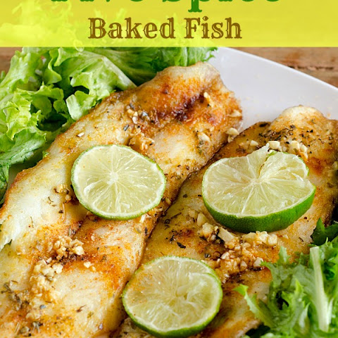 5 Spice Baked Fish — Quick and Flavorful!