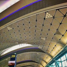 HK Airport by Daniel Kong - Buildings & Architecture Architectural Detail ( airport, hong kong, travel photography,  )