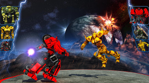 Real X-Ray Robot Fighting Game screenshot 2