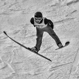 Flying like an Eagle by Tom Anderson - Sports & Fitness Snow Sports ( sking, winter, olympics, winter sports, ski jumping )