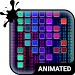 Digital Rain Animated Keyboard Icon