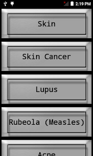 Skin Disease Treatment screenshot for Android