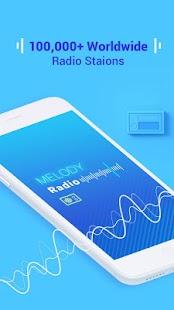 Melody Radio - Live radio, Music & Free FM for pc