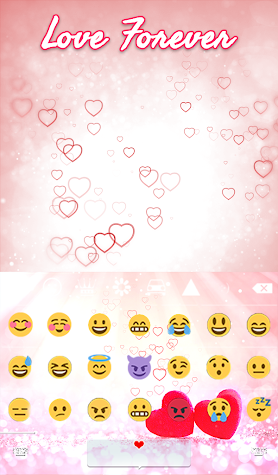 Love Forever Animated Keyboard Screenshot