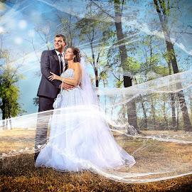 fotograf vencanje by Dejan Nikolic Fotograf Krusevac - Wedding Bride & Groom ( fotografije, vencanje, wedding, svadba, fotograf, photoshop )