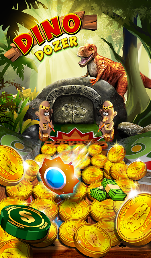 Jurassic Coin Dino Pusher Screenshot