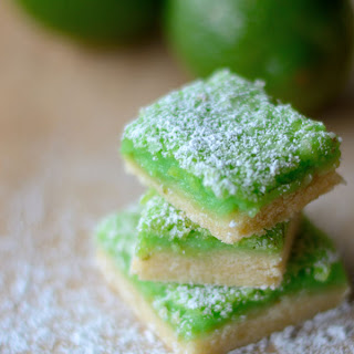 Luscious Lime Cooler Bars
